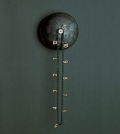catena wall clock by Andreas Dober for Anthologie Quartett