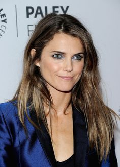 """Keri Russell Photos - Keri Russell attends """"The Americans"""" panel during 2013 PaleyFest: Made In New York at The Paley Center for Media on October 2013 in New York City. - """"The Americans"""" - 2013 PaleyFest: Made In New York Keri Russell Hair, Keri Russell Style, Pretty Hairstyles, Braided Hairstyles, Hairdos, Blue Eyeliner, Crazy Hair, Vogue, Beautiful Actresses"""