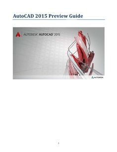 AutoCAD Preview Guides 2000 - 2016
