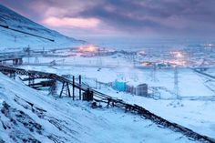 """touchrussia:    """"The Arctic city of Norilsk generally doesn't get a good press from the Russian media. Journalists home in on its extreme climate, the state of the local environment and drag up the grimmest pages of the city's history – the Stalin-era Gulags that were once on the outskirts of the city.""""  Yet the city has a promising future.  Credits: Press Photo"""