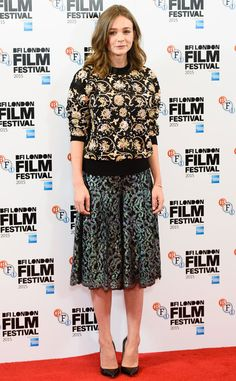 Carey Mulligan Welcomes a Baby With Marcus Mumford, Returns to the Red Carpet at London Film Festival  Carey Mulligan