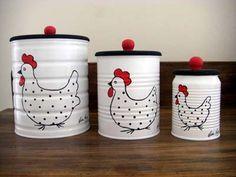 15 Ideas Diy para reciclar y decorar con latas de hojalata. | Mil Ideas de Decoración