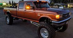 Custom Ford Trucks, Big Ford Trucks, Cool Trucks, Chevy Trucks, 4x4 Trucks, Lifted Trucks, Ford Diesel, Diesel Trucks, Obs Truck