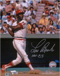 a44cab97d45 Lou Brock St. Louis Cardinals Autographed 8