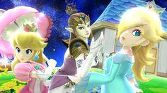 New Smash Bros Wii U native HD screenshots involving Princess Zelda (January 2014)