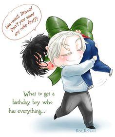 Draco's gift - drarry Fan Art