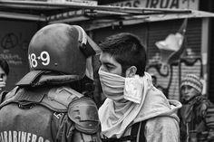 """Fight Police vs. Student"" by Pablorpjasm  Score: 60/100    Pablorpjasm: Revolucion estudiantil que se desarrollo en chile el año 2011 (Student revolution that developed in Chile in 2011)"