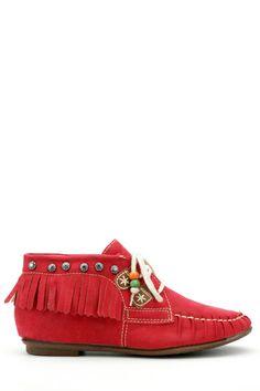 Fringed Beaded Lace Shoes