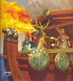 Greek Fire, Its amazing that the eastern roman empire had such a modern weapon.