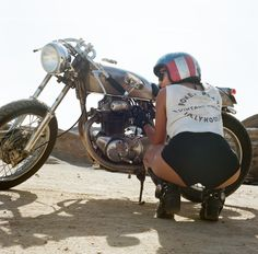 The Womens Motorcycle Exhibition by Lanakila MacNaughton
