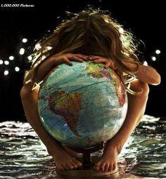 Abraçando o mundo!