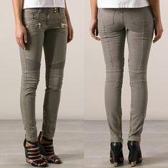 Is Kim Kardashian Dropping Wedding Hints with Her Balmain Jeans?