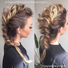 Hell yes. Braid Mohawk.