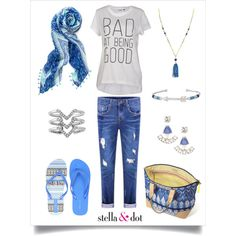 Being Bad is So Good by jessicaehst on Polyvore featuring polyvore, fashion, style, ONLY, Stella & Dot, stelladot, summerishere and stelladotstyle