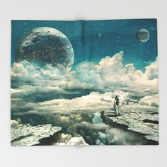 Buy The explorer Throw Blanket by Seamless. Worldwide shipping available at Society6.com. Just one of millions of high quality products available.