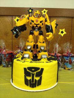 Transformers Birthday Cake  http://CW-Cakes.com