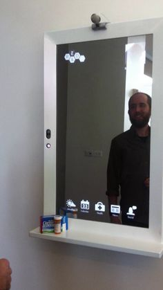"""New York Times R&D Lab: Retail and the """"magic mirror"""". An interview at The New York Times R&D Lab, August 2011. I want one of these!"""