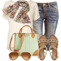 """End of Summer"" by pippimommy on Polyvore"