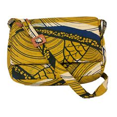 @Overstock - This wax print fabric messenger bag features delicate handmade construction. Bursting with vibrant color, this bag is sure to brighten any wardrobe.http://www.overstock.com/Worldstock-Fair-Trade/Wax-Print-Stepping-Stones-Messenger-Bag-Rwanda/6570107/product.html?CID=214117 $54.99