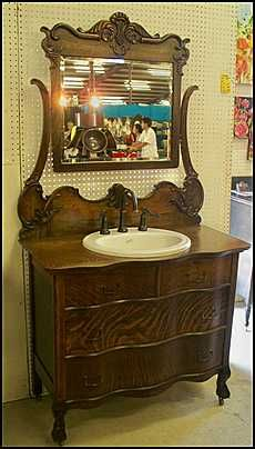 Picture Collection Website Photo of Side View Antique Bathroom Vanity Claw Foot Antique Dresser for Bathroom Vanity