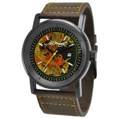 Relógio Ed Hardy Men's KM-DR Kombat Yellow Watch #Relógio #Ed Hardy