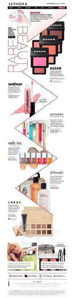 #Sephora #makeup #infographics