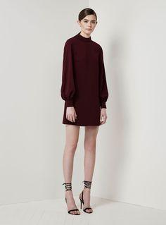 Keepsake Irreplaceable L/S Dress – Fig