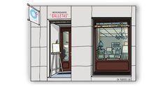 Madrid, Furniture, Home Decor, Gourmet, Cookies, Illustrations, Art, Decoration Home, Room Decor