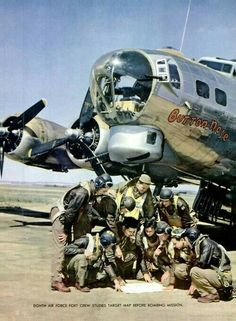B 17 and Crew