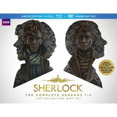 Sherlock: The Complete Seasons 1-3 Limited Edition Gift Set (Blu-ray + DVD)