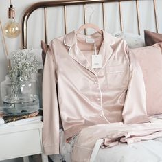 A Rose Gold bed for our Rose Cloud pyjamas