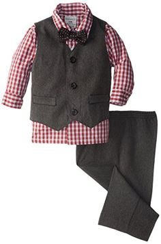 Perry Ellis Baby-Boys Infant Herringbone Vest Set, Dark Grey, 18 Months Perry Ellis http://www.amazon.com/dp/B00MZ8IGZ6/ref=cm_sw_r_pi_dp_j0D3ub0BHGVMG