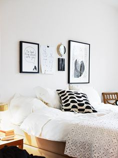 the room of two graphic lovers (via PLANETE DECO) - my ideal home...