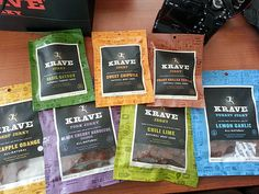 A Kare Pack from Krave features a sampling of their many flavors