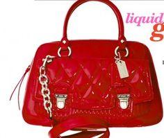 coach liquid gloss purse