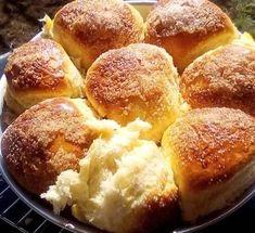 Υπέροχα ψωμάκια γλυκά νηστίσιμα !!! Pretzel Bites, Cornbread, Mashed Potatoes, French Toast, Sweets, Breakfast, Health, Ethnic Recipes, Food