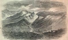 Cumberland Gap:  The Cumberland Gap is a passage way through Cumberland Mountain, a long ridge within the Appalachian Mountains.