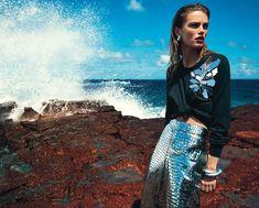 splash: mathilde brandi by greg kadel for vogue australia june 2016 | visual optimism; fashion editorials, shows, campaigns & more!