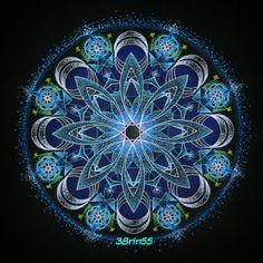「宙を奏でる点描曼荼羅画」の画像検索結果