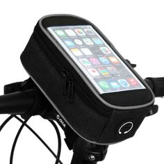 5.5 /4.8 /4.2 Inches Front Bicycle Mobile Phone Bag Case Panniers Cycling Pouch Mountain Bike Frame Top Tube Bag Basket