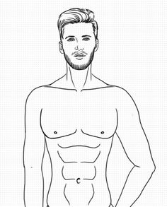Image result for laurapaez maniqui Fashion Illustration Tutorial, Man Illustration, Fashion Illustration Sketches, Fashion Sketches, Fashion Drawings, Illustrations, Fashion Figure Templates, Fashion Model Drawing, Sketch Poses
