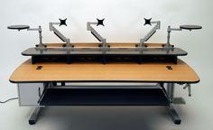 Height Adjustable Music Production Desk | Martin & Ziegler