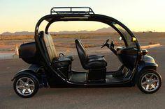 Black custom Gem car