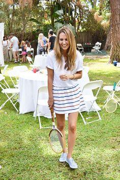 Tennis Tennis Clothes, Tennis Outfits, Casual Outfits, Fashion Outfits, Preppy Girl, Tennis Fashion, Play Tennis, Wimbledon, Prompt