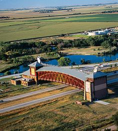 Great Platte River Road Arch Museum, Kearney, Neb.  - really good history museum, well worth the stop.