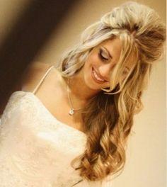 Bridal Hairstyles for Long Hair | Summer 2010 Wedding Hairstyles For Bride - Wedding Hairstyles - Zimbio