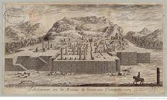 [Tchelminar ou les ruines de l'ancienne Persepolis] / A. Daulier Deslandes, del. | Source Gallica Bibliothèque nationale de France
