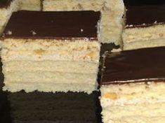 Prajitura cu foi de zahar ars si crema cu ness - Rețetă Petitchef Romanian Desserts, Appetizers For Party, Easy Desserts, Macarons, Vanilla Cake, Caramel, Bakery, Cheesecake, Good Food
