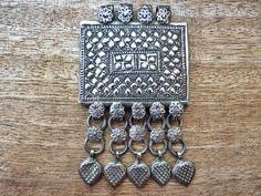 P0757 6 vintage kuchi pendants pendants vintage and etsy old kuchi pendant from afghanistan aloadofball Gallery