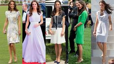 The middle one is my absolute favorite!! Why can't I just borrow all of Kate's clothes after she's worn them a few times? She can afford to by more! Oh yeah, now I remember. I'd never fit in them...